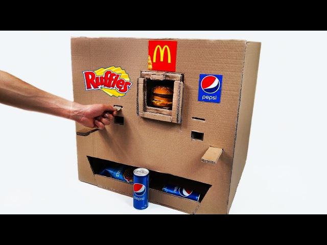 How to Make Ruffles McDonalds and Pepsi Vending Machine