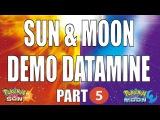 SUN MOON DEMO DATAMINE - Part 5