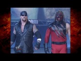 The Undertaker &amp Kane vs Triple H w Stephanie McMahon &amp Kurt Angle 71700