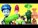 Носики Курносики • Фиксики собирают гоночную машинку BuildPlay - Развивающий мультик с игрушками Fixiki