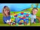 Носики Курносики • Lego Замок и малыш Даник с мамой - Видео для детей с конструктором Лего и Даником