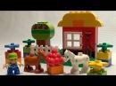 Носики Курносики • Конструктор Лего ферма. Lego Duplo farm animals