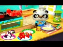 Носики Курносики Итальянский ресторан Доктора Панды Развивающая игра для детей Dr Panda's restaurant 2