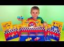 Носики Курносики • Машинки и гоночная трасса автодром - Развлекательное видео для детей с машинками и Даником