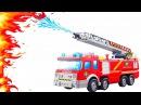 Носики Курносики • ПОЖАРНЫЕ МАШИНКИ. Много машинок для детей. СКОРАЯ ПОМОЩЬ И ПОЛИЦЕЙСКАЯ МАШИНЫ. FIRE ENGINE for Kids