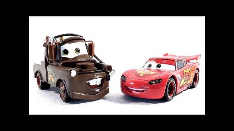 Носики Курносики • Машинки Тачки Молния Мак Куин и Мэтр играют вместе Lightening McQueen Cars