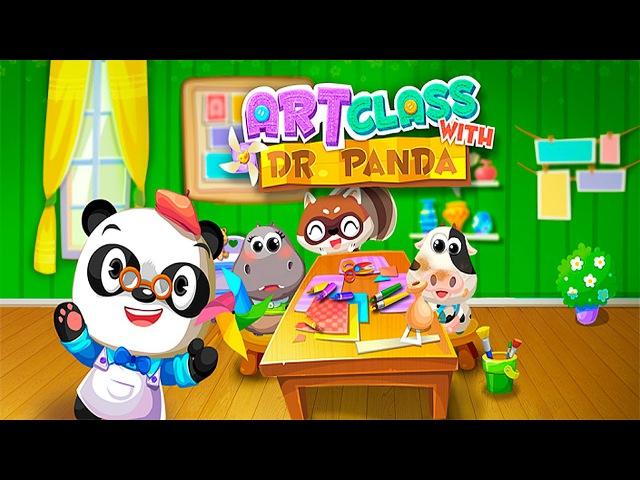 Носики Курносики • Арт класс Доктора Панды - Развивающее видео для детей. Art Class with Dr Panda
