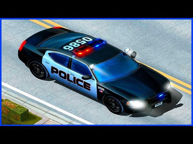 Носики Курносики • Мультфильм Полицейские Машины и Мобильный Участок на колёсах. Мультики про Машинки. Police Cars