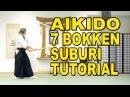Aikido Weapons In-Depth 7 Bokken Suburi Tutorial