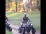 Прокат квадроциклов в Новосибирске.Короткая дистанция Кто быстрей)))