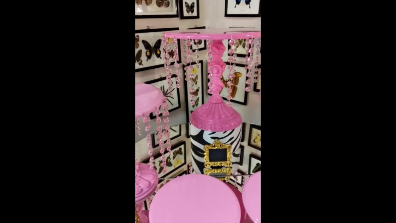 Хрусталь в розовом Голиция СофиШерон МатисS Шанель персонализациия Посуда для candy bar