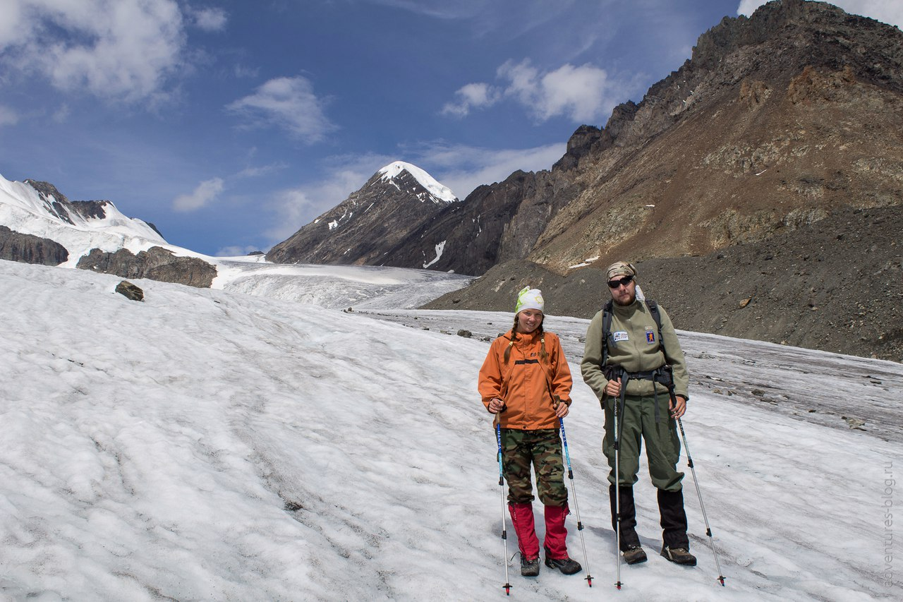 На Леднике Большой Актру