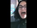 14 января | Видеозапись из «Instagram Stories» Лили.