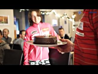 Чешская команда поздравляет Веронику Виткову с днем рождения (09.12.2016)