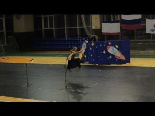 Выступление Насти на гала-концерте, Артек, 9 смена 2016 год
