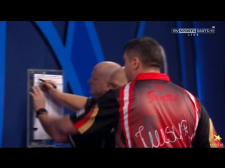 Mensur Suljovic vs Mark Webster (PDC World Darts Championship 2017 / Round 2)