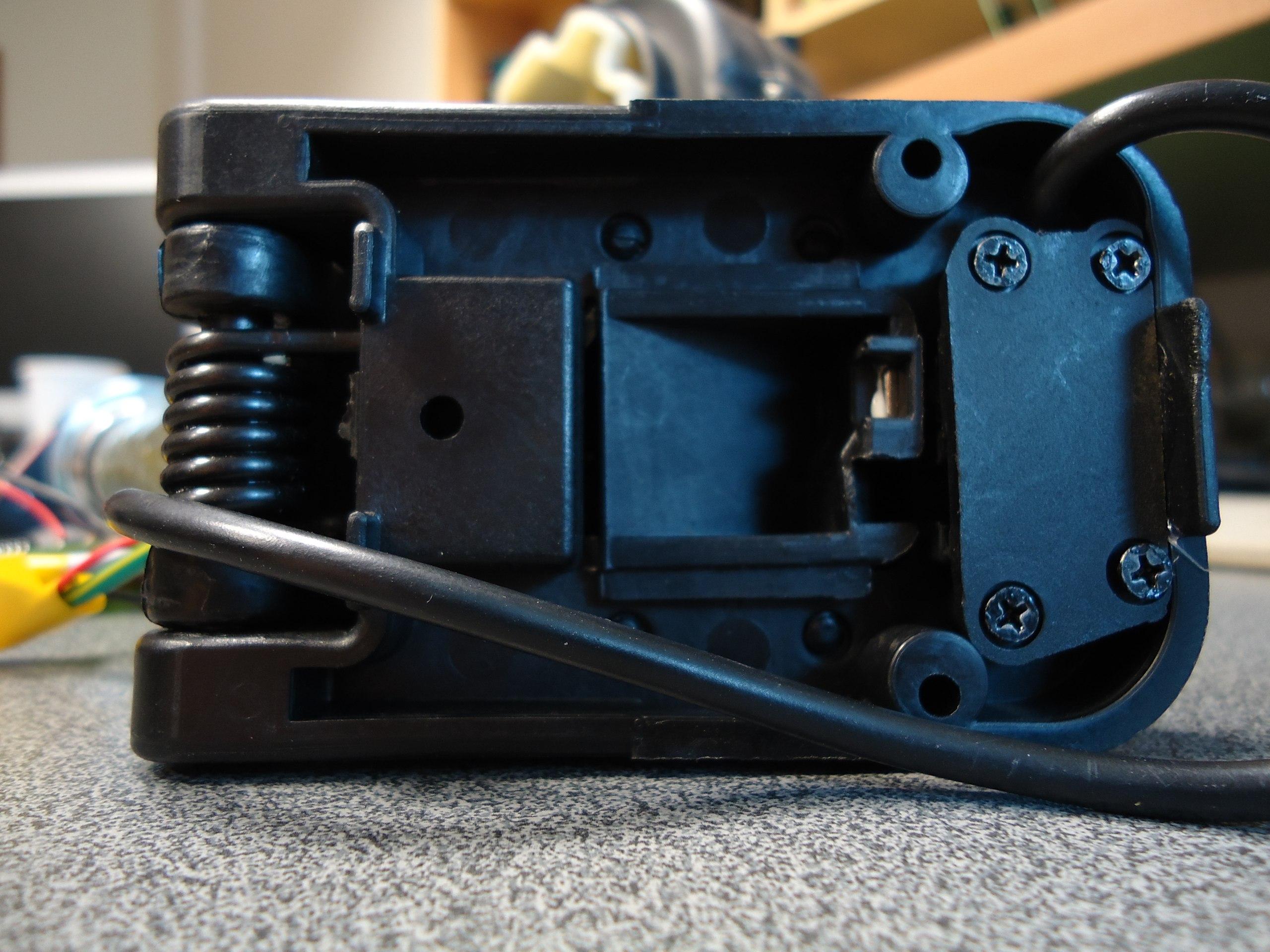 Переменный резистор для педали газа