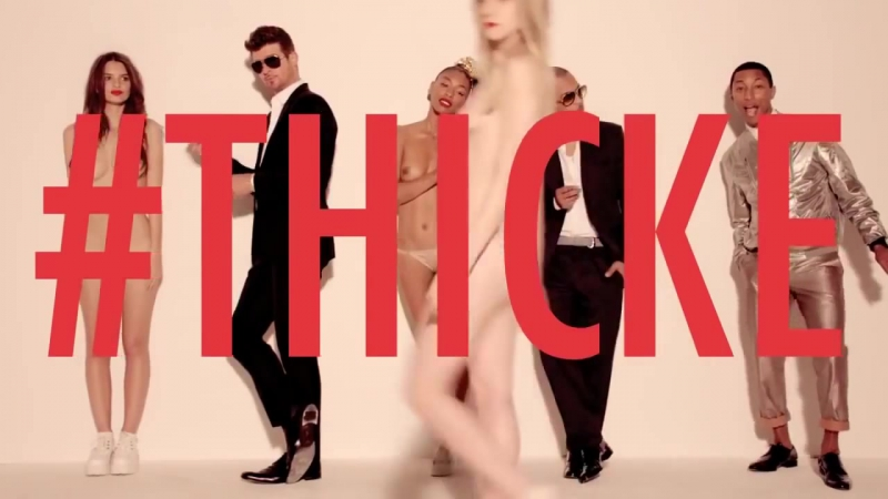 Robin Thicke ft TI and Pharrel - Blurred Lines