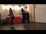 Танцы и импровизация с Юлей Волковой. Электросталь.