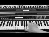 ✩ Печаль на синтезаторе Yamaha & Korg cover Виктор Цой группа Кино