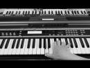 ✩ Печаль на синтезаторе Yamaha Korg cover Виктор Цой группа Кино