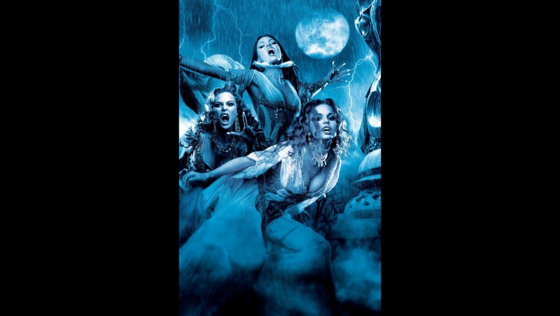 Невестки Дракулы: Верона, Алира, Маришка.