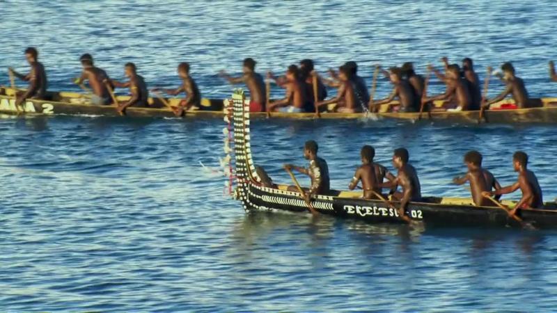 BBC Тайны Тихого океана 2 серия из 6 Переселенцы 2009