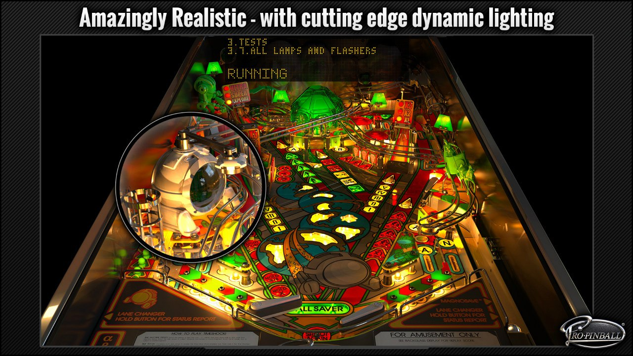 Pro Pinball: Timeshock - Ultra Edition (2016) PC - Скриншот 2