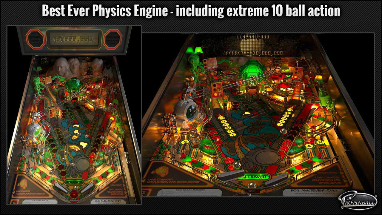 Pro Pinball: Timeshock - Ultra Edition (2016) PC - Скриншот 1