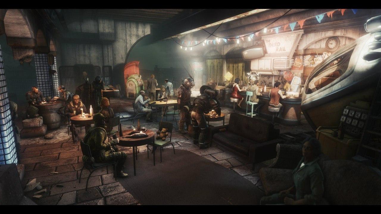 В Fallout 4 продолжают завозить графику