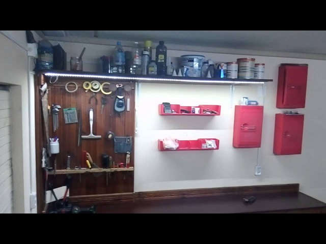 Ремонт, обзор гаража, обустройство, гараж под офис.