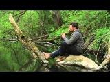 Double wooden ocarina Двойная деревянная окарина