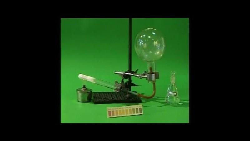 Опыты по химии. Получение и собирание аммиака