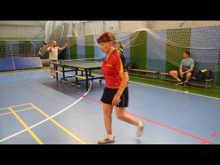 Настольный теннис (ТУРНИР БЕЛОУСОВО). ГАНИНА Александра VS МАКЛАКОВ Павел