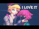 【MMD】I LOVE IT - Cil and Cray 【Undertale AU】