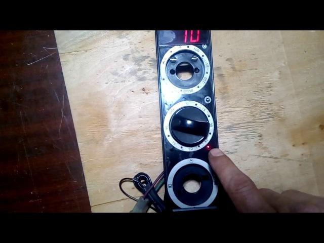 Pinscher Электронный таймер на ATTiny2313 с энкодером под нагрузки 1....250V