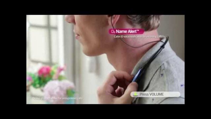 LG Accessory : Bluetooth Stereo Headset TONE PRO™ (HBS-750)
