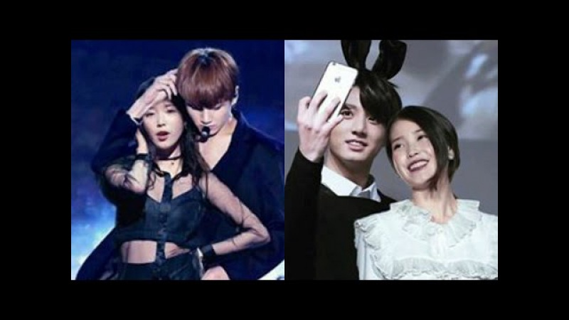 BTS's Jungkook and IU Cute moments (FANBOY DETECTED) Part 2