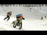 Ski Racing Behind Motorcycles - Red Bull Twitch 'n' Ride 2015