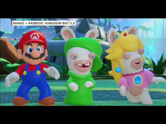Mario Rabbids Kingdom Battle Switch Gameplay Showcase - IGN Live: E3 2017