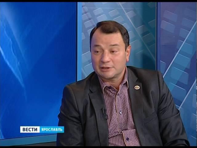 Гость студии Вестей - Юрий Итин