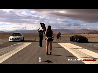 EVO Destroys a Lamborghini Aventador