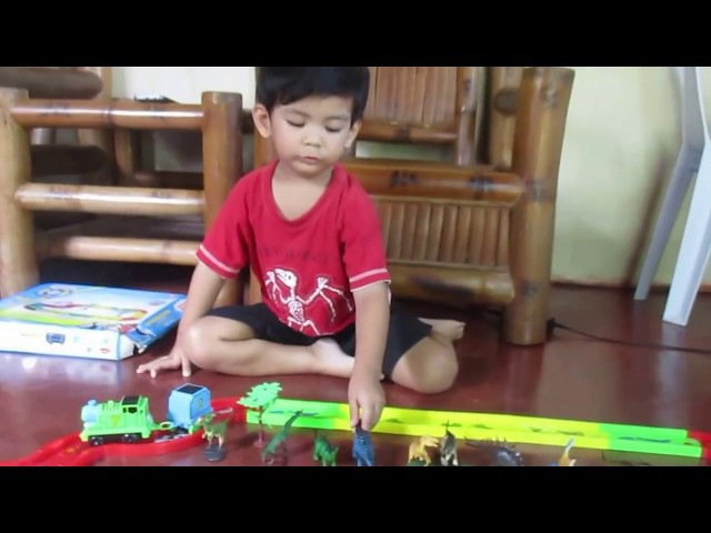 Thomas the Train and the Dinosaurs with Anjaymar