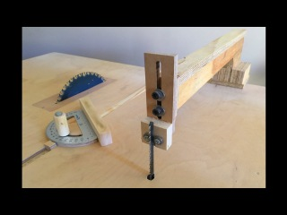 4 in 1 Workshop Accessories (blade guide, miter gauge, crosscut sled) - 4 in 1 ç.i. Aparatları