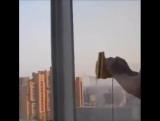 Супер идея - Магнитная щетка ? Она одновременно моет, вытирает и полирует оконное стекло с ДВУХ СТОРОН! ❤️❤️❤️?