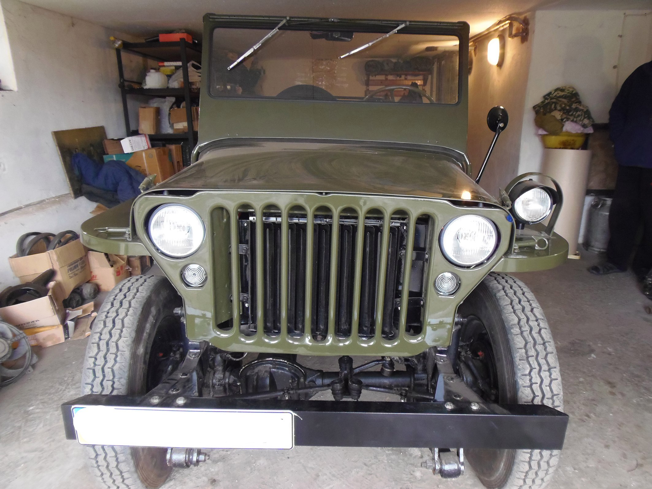 Willys MB 1942 car for Soviet ARMY WWII for sale G503