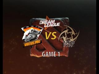 3 сезон ASUS ROG DreamLeague Игра Virtus pro vs Ninjas in Pyjamas game 1