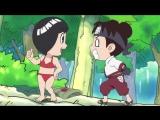 [SHIZA] ЧИБИ Наруто - Весна Юности Рока Ли / Naruto SD Rock - Lee no Seishun Full-Power Ninden TV - 1 серия [NIKITOS] [2012]