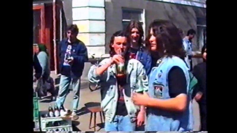 ,,OBMOROCK,, and KRUGER - пиво пенное 1993 год (Измаил 1993)