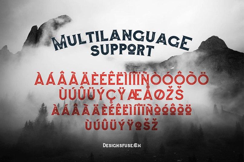 Augusto Rough шрифт скачать бесплатно
